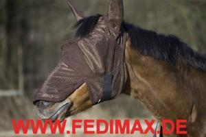 Fliegenschutzmaske Pferd
